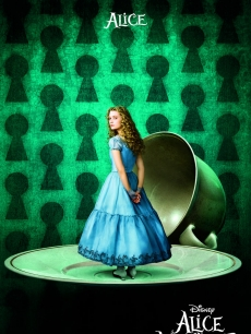 Mia Wasikowska in Disney's 'Alice In Wonderland'