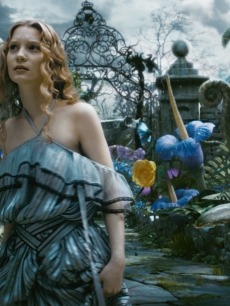Mia Wasikowska as 19-year-old Alice in Disney's 'Alice In Wonderland'