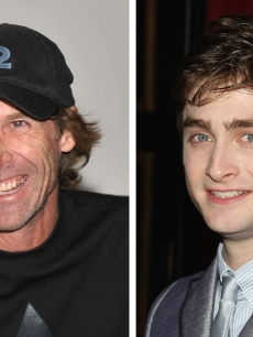 Michael Bay and Daniel Radcliffe, both among Hollywood&#8217;s top earners in 2009