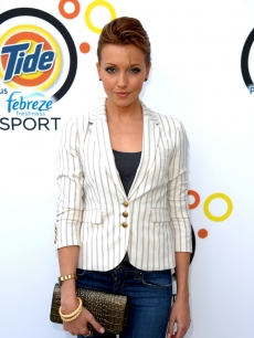 A chic Katie Cassidy steps out at the launch of Tide and Venus Williams&#8217; New Tide Plus Febreze Freshness Sport at the Recreation Deck at the W South Beach in Miami Beach, Fla., on February 5, 2010