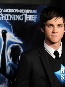 Logan Lerman attends the premiere of 'Percy Jackson & The Olympians: The Lightning Thief' at AMC Lincoln Square 13 on February 4, 2010 in New York City
