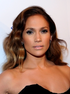 Jennifer Lopez attends Scott Barnes' 'About Face' book launch party at Provocateur at The Hotel Gansevoort on January 20, 2010 in New York City