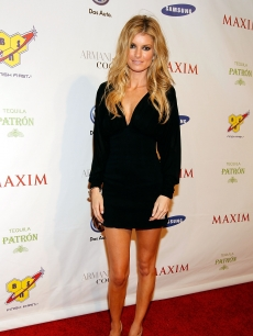 Model Marisa Miller attends the 2010 Maxim Super Bowl Party at The Raleigh on February 6, 2010 in Miami, Florida