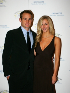 Andy Roddick and wife, model Brooklyn Decker attend the 4th Annual Andy Roddick Foundation Gala at Hilton Austin on November 30, 2009 in Austin, Texas