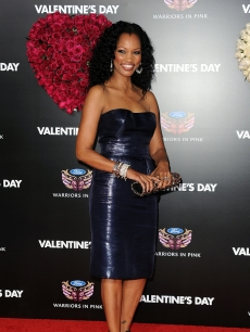 Garcelle Beauvais arrives at the premiere of 'Valentine's Day' held at Grauman's Chinese Theatre in Los Angeles, Calif. on February 8, 2010