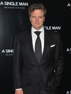 The ever-dapper Colin Firth attends the Paris premiere of &#8216;A Single Man,&#8217; February 9, 2010