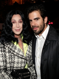 Cher and Eli Roth are spotted The Academy Award Nominations For 'Inglourious Basterds' And Quentin Tarantino event hosted by Audi at La Vida restaurant in Los Angeles, California on February 9, 2010