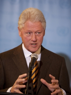 Former President Bill Clinton, January 21, 2010