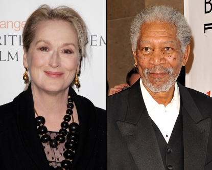 Meryl Streep/Morgan Freeman