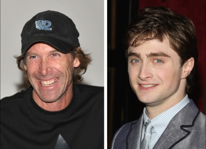 Michael Bay and Daniel Radcliffe, both among Hollywood's top earners in 2009