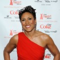 ABC's Robin Roberts hits the red carpet at the Heart Truth Fall 2010 Fashion Week Show, Bryant Park, NYC, February 11, 2010