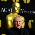 Director James Cameron poses at the 82nd annual Academy Awards Nominee Luncheon at Beverly Hilton Hotel on February 15, 2010 in Los Angeles, California.