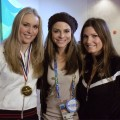 Lindsey Vonn & Julia Mancuso Shed Tears Of Joy Over Olympic Wins