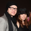 Justin Timberlake and Jessica Biel attend the Paris68 Fall 2010 Fashion Show during the Mercedes-Benz Fashion Week at Milk Studios in New York City on February 18, 2010