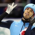 Apolo Anton Ohno earns his seventh Olympics medal, making him the most-decorated Winter Olympian ever at the 2010 Winter Olympics in Vancouver, Canada on February 20, 2010