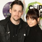 Joel Madden and Nicole Richie attend the The Richie-Madden Children's Foundation and 7-Eleven's 'Coffee Cup with a Cause' program to benefit the Beyond Shelter Neighborhood Resource Center on February 9, 2010 in Los Angeles