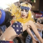 Lady Gaga busts a patriotic move in her 'Telephone' video