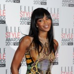Naomi Campbell arrives at the ELLE Style Awards at the Grand Connaught Rooms, London, February 22, 2010