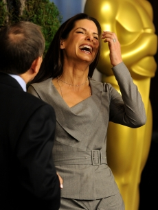 Actress Sandra Bullock poses at the 82nd annual Academy Awards Nominee Luncheon at Beverly HiSandra Bullock at the 2010 Academy Awards Luncheon lton Hotel on February 15, 2010 in Los Angeles, California.