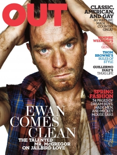 Ewan McGregor on Out Magazine&#8217;s March cover