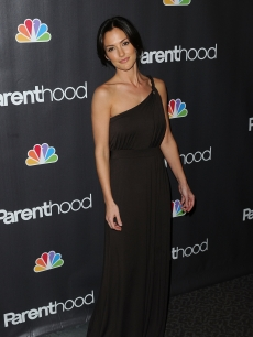 A glam Minka Kelly is spotted at the Los Angeles premiere of 'Parenthood' in West Hollywood, California on February 22, 2010