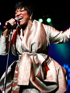 Patti LaBelle performs live at the Grand West Casino on October 30, 2009 in Cape Town, South Africa