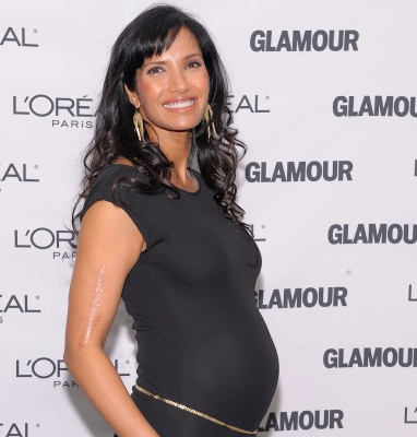 Padma Lakshmi attends the Glamour Magazine 2009 Women of The Year Honors at Carnegie Hall in New York City on November 9, 2009