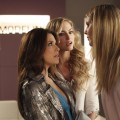 Heidi Klum makes her 'Desperate Housewives' debut with Eva Longoria and Drea de Matteo on the March 14, 2010 episode