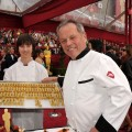 Wolfgang Puck cooks up a storm at the 82nd Annual Academy Awards at the Kodak Theatre in Hollywood, on March 7, 2010