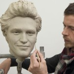 Robert Pattinson's wax figure being made