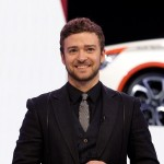 Justin Timberlake presents the Audi A1 during the first press day at the 80th Geneva International Motor Show on March 2, 2010 in Geneva, Switzerland