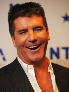 Simon Cowell appears backstage at the National Television Awards held at O2 Arena, London, January 20, 2010