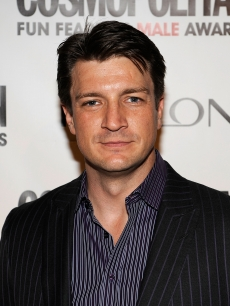 'Castle' cutie Nathan Fillion attends Cosmopolitan Magazine's Fun Fearless Males of 2010 at The Mandarin Oriental Hotel, NYC, March 1, 2010