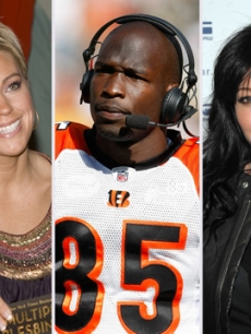 Kate Gosselin, Chad Ochocinco, Shannen Doherty