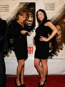 Hoda Kotb and Bethenny Frankel attends the premiere of Overture Films' 'Brooklyn's Finest' at AMC Lincoln Square Theater, NYC, March 2, 2010