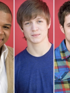 Michael Lynche, Alex Lambert, Lee Dewyze from 'American Idol'