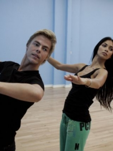 Nicole Scherzinger and Derek Hough bust a move at rehearsals for &#8216;Dancing with the Stars&#8217; Season 10