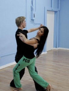 Nicole Scherzinger and Derek Hough rehearse for &#8216;Dancing with the Stars&#8217; Season 10