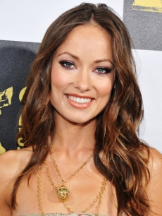Olivia Wilde on the blue carpet at the 25th Film Independent Spirit Awards