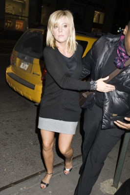 Kate Gosselin sighting at Butter Restaurant on February 5, 2010 in New York City