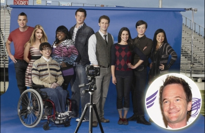 The cast of 'Glee'/Neil Patrick Harris