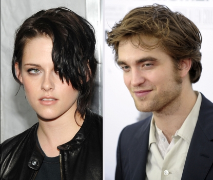 Kristen Stewart and Robert Pattinson at the NYC premiere of 'Remember Me,' March 1, 2010