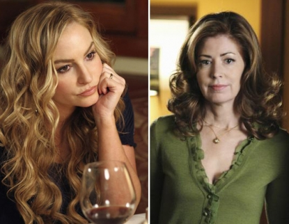 Drea de Matteo and Dana Delaney on 'Desperate Housewives'