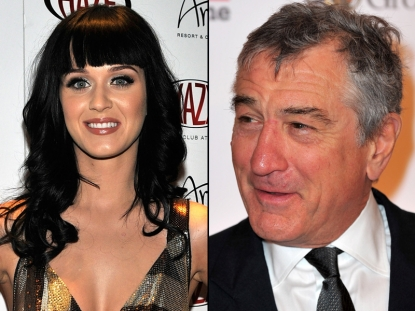 Katy Perry/Robert De Niro
