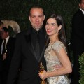 Jesse James and Actress Sandra Bullock arrive at the 2010 Vanity Fair Oscar Party hosted by Graydon Carter held at Sunset Tower on March 7, 2010 in West Hollywood, California.