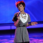 Lacey Brown sings her farewell song after being eliminated from 'American Idol'