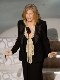 Barbra Streisand presents onstage during the 82nd Annual Academy Awards held at Kodak Theatre in Hollywood, California on March 7, 2010