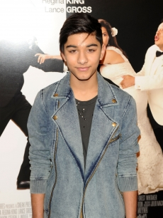 Mark Indelicato attends the premiere of 'Our Family Wedding' at AMC Loews Lincoln Square 13 theater, NYC, March 9, 2010