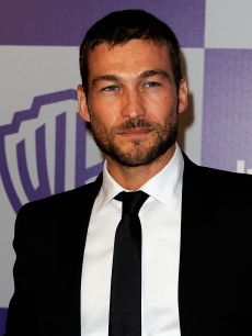 Andy Whitfield arrives at the InStyle and Warner Bros. 67th Annual Golden Globes after party held at the Oasis Courtyard at The Beverly Hilton Hotel on January 17, 2010 in Beverly Hills, California