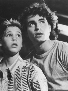 Corey Haim and Jason Patric in a photo from 1987&#8217;s &#8216;The Lost Boys&#8217;